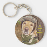 I'd Rather Be Hunting! Keychain