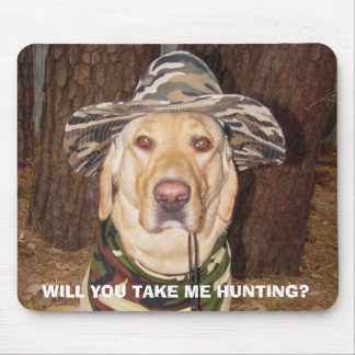 I'd Rather be Hunting Mouse Pad