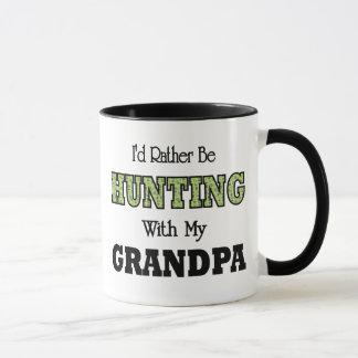 I'd Rather Be Hunting with Grandpa Mug