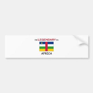I'd Rather Be In AFRICA Bumper Sticker