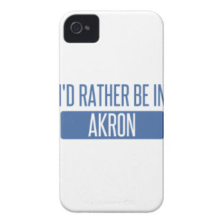 I'd rather be in Akron iPhone 4 Case