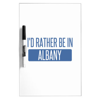 I'd rather be in Albany GA Dry-Erase Board