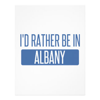 I'd rather be in Albany GA Letterhead