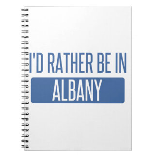 I'd rather be in Albany GA Spiral Notebook