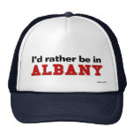 I'd Rather Be In Albany Mesh Hats
