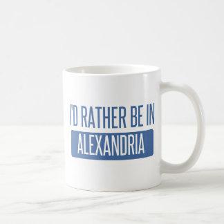 I'd rather be in Alexandria VA Coffee Mug