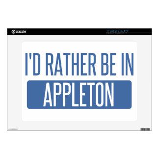 I'd rather be in Appleton Laptop Skin