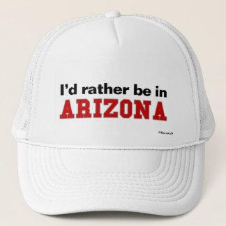 I'd Rather Be In Arizona Trucker Hat