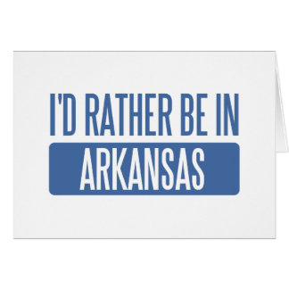 I'd rather be in Arkansas Cards