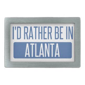I'd rather be in Atlanta Belt Buckle