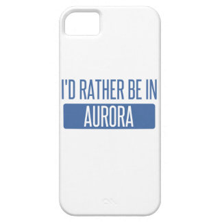 I'd rather be in Aurora CO iPhone SE/5/5s Case