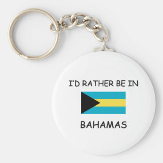 I'd rather be in Bahamas Keychains