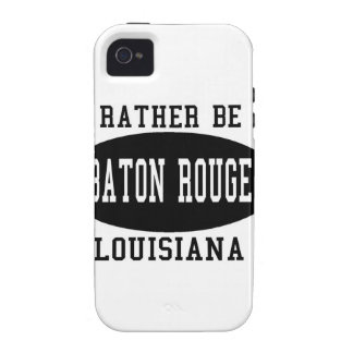 I'd Rather Be In Baton Rouge iPhone 4 Covers