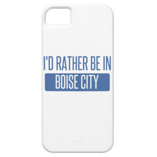 I'd rather be in Boise City iPhone SE/5/5s Case