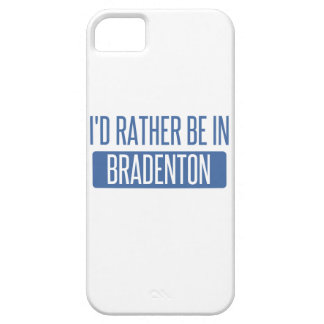 I'd rather be in Bradenton iPhone SE/5/5s Case