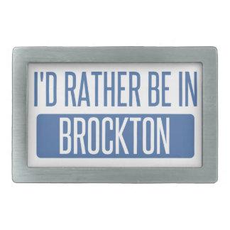 I'd rather be in Brockton Belt Buckle
