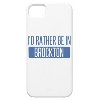 I'd rather be in Brockton iPhone SE/5/5s Case