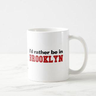 I'd Rather Be In Brooklyn Classic White Coffee Mug
