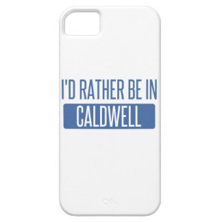 I'd rather be in Caldwell iPhone SE/5/5s Case