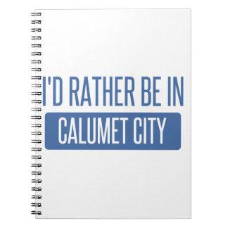 I'd rather be in Calumet City Notebook