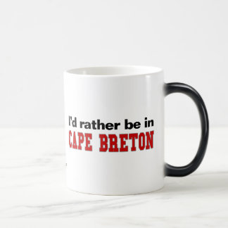 I'd Rather Be In Cape Breton 11 Oz Magic Heat Color-Changing Coffee Mug