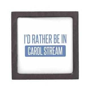 I'd rather be in Carol Stream Jewelry Box