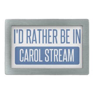I'd rather be in Carol Stream Rectangular Belt Buckle