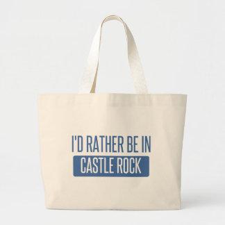I'd rather be in Castle Rock Large Tote Bag