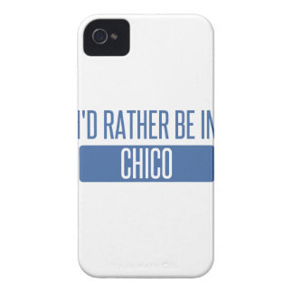 I'd rather be in Chico iPhone 4 Cover