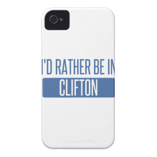 I'd rather be in Clifton iPhone 4 Case