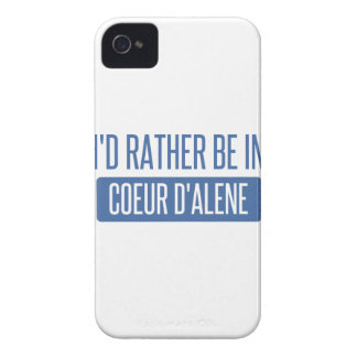 I'd rather be in Coeur d'Alene Case-Mate iPhone 4 Case