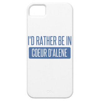 I'd rather be in Coeur d'Alene iPhone SE/5/5s Case