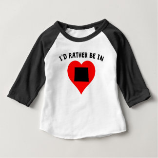 I'd Rather Be In Colorado Infant T-shirt