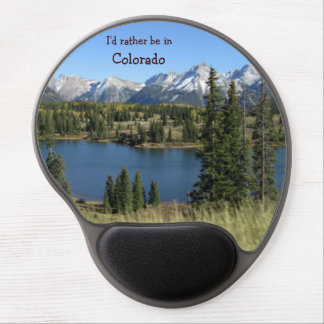 I'd rather be in Colorado mousepad