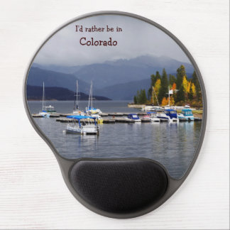 I'd rather be in Colorado mousepad Gel Mouse Pad