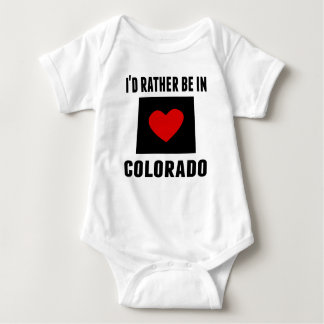 I'd Rather Be In Colorado Tshirt