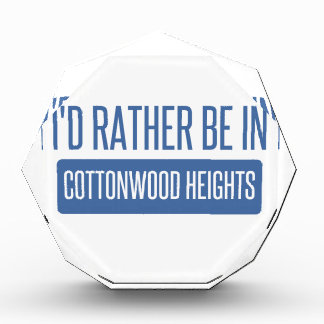 I'd rather be in Cottonwood Heights Award