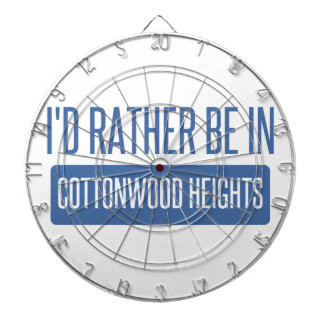 I'd rather be in Cottonwood Heights Dartboards
