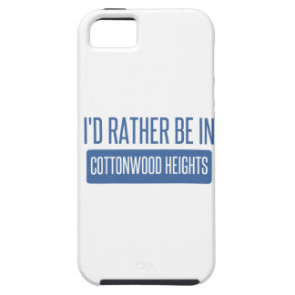 I'd rather be in Cottonwood Heights iPhone SE/5/5s Case