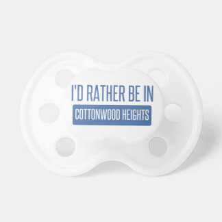 I'd rather be in Cottonwood Heights Pacifier