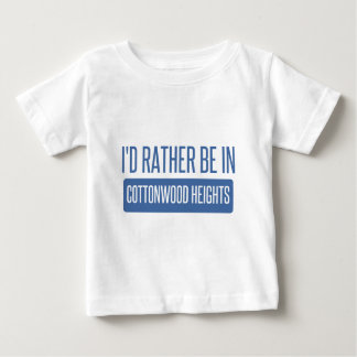 I'd rather be in Cottonwood Heights Tee Shirt