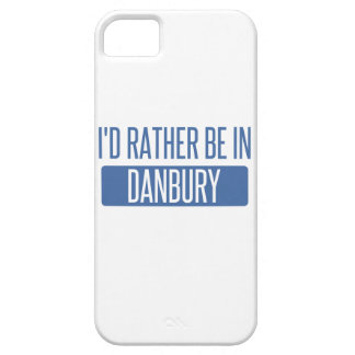 I'd rather be in Danbury iPhone SE/5/5s Case