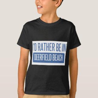 I'd rather be in Deerfield Beach T-Shirt