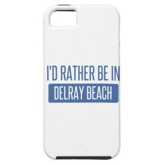 I'd rather be in Delray Beach iPhone SE/5/5s Case