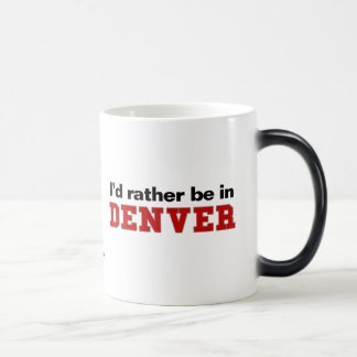 I'd Rather Be In Denver 11 Oz Magic Heat Color-Changing Coffee Mug