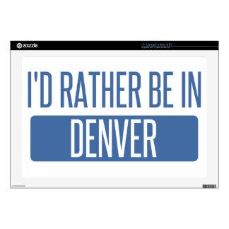 """I'd rather be in Denver Skins For 17"""" Laptops"""