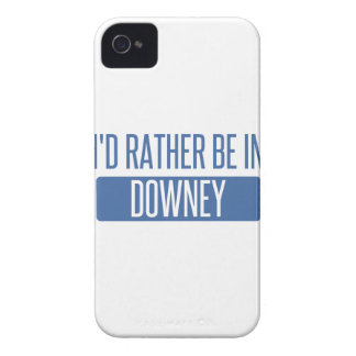 I'd rather be in Downey Case-Mate iPhone 4 Case