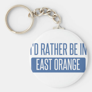 I'd rather be in East Orange Keychain