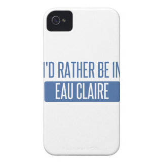 I'd rather be in Eau Claire iPhone 4 Case-Mate Case