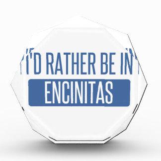 I'd rather be in Encinitas Acrylic Award